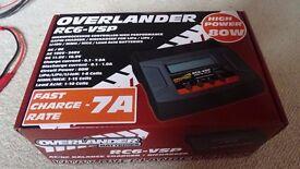 Overlander RC6 -VSP 80 Watt Battery Charger Lipo Nicad etc (Brand New)
