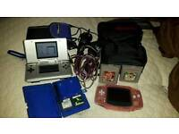 Nintendo ds and gameboy advance bundle