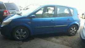 Renault scenic 1.5 diesel 2004reg breaking for parts