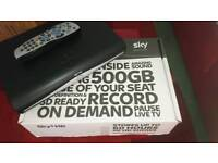 SKY 500GIG HD BOX AND SKY ROUTER