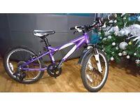 "20"" Carrera Luna Girls Mountain bike purple"