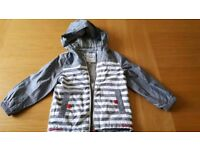 M&S Boys Striped Jacket 5-6 years