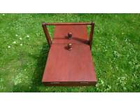 A quality vintage retro large French sewing box very quirky!