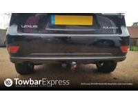 lexus RX450h detachable towbar complete with wiring 2016