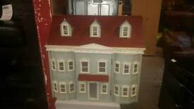 Kids doll house on 3 floors
