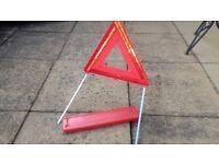 Genuine Volvo Warning Triangle