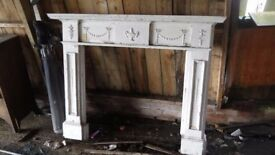 Old Wooden Fire Surround Restoration Project