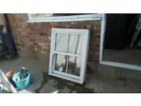 Upvc double glazed sash window