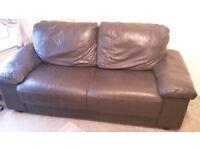 Leather sofas 3x2
