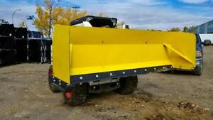 SNOW BOX BLADE PUSHER SNOW PLOW SKID STEER SNOW BLADE 8 / 10 / 12 / 14 FT MADE IN USA