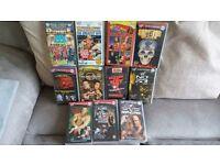 WWF WWE Wrestling VHS Videos Bundle of 11