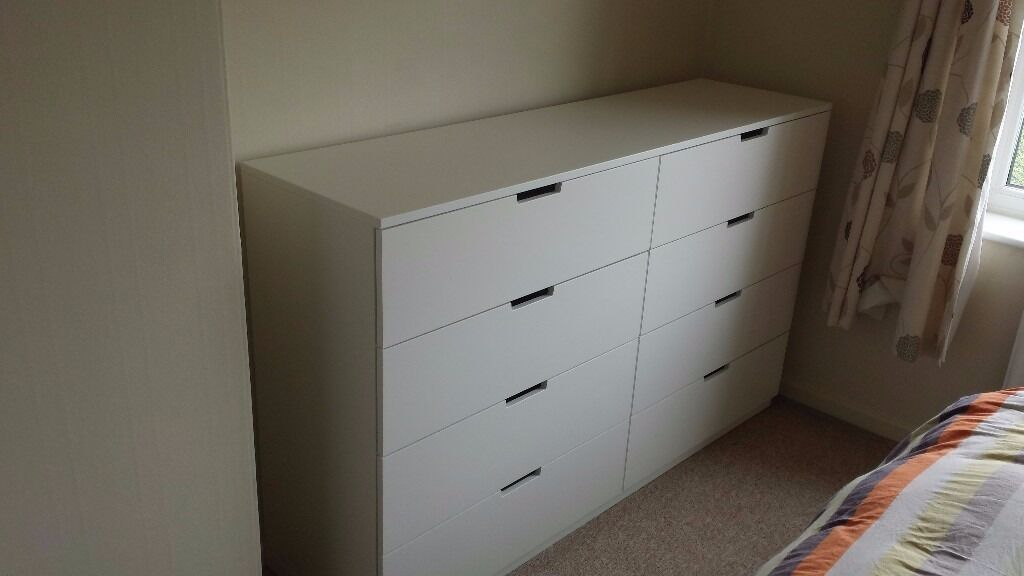 ikea nordli 8 drawer chest excellent condition in sheffield south yorkshire gumtree. Black Bedroom Furniture Sets. Home Design Ideas