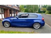 BMW 120d M Sport 3 door hatchback 177 bhp LOW TAX 1 year MOT
