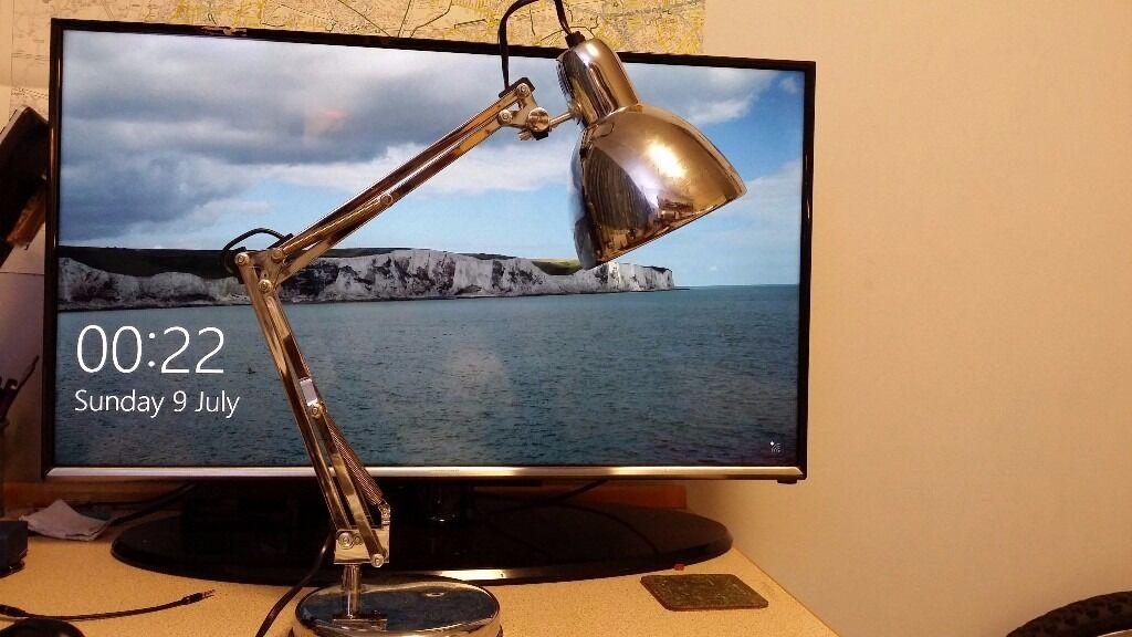 Ikea Vintage Retro Pixar Desk Lamp Chrome Sliver With