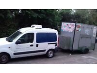 Working Fridge Van plus Catering TRAILER £4500.00 ! (ono) ! both ONLY !!