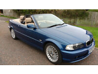 Excellent BMW 320 Convertible for sale