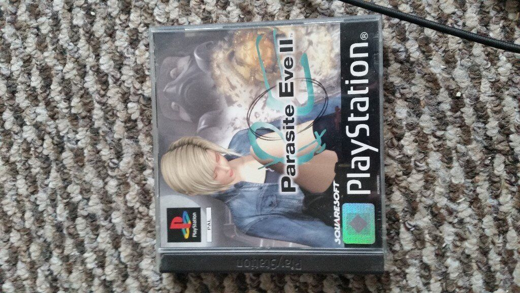 playstation 1 Parasite Eve 2 with instructions