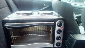 Hot plate and Oven
