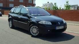 2007 Renault Megane Estate Mk2 facelift 2.0 VVT privilege 5dr++F/S/H+Cambelt done+mint