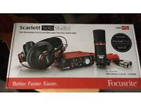 Scarlett Solo studio Bundle Usb audio interface