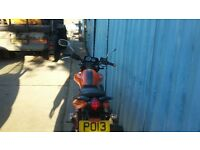 keeway rkv 125 lovely bike swap for supermoto