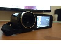 Canon Legaria HF-R46 Full-HD Camcorder - Used only once, Current RRP £240: w/box+case