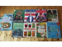 Various Cook Books as new