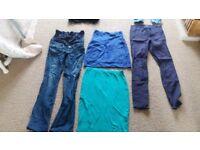 Maternity Clothes Bundle (Sizes small & medium)