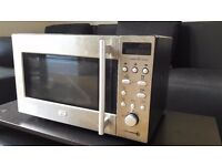 Microwave LG inox 800W 20L 5powers one touch solo 5cooking and 4defrost programmes 45,5x28,1x32,5 cm