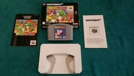 N64 YOSHI'S STORY BOXED AND COMPLETE!