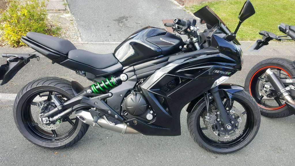 kawasaki er6f abs 650 2015 in plymouth devon gumtree. Black Bedroom Furniture Sets. Home Design Ideas