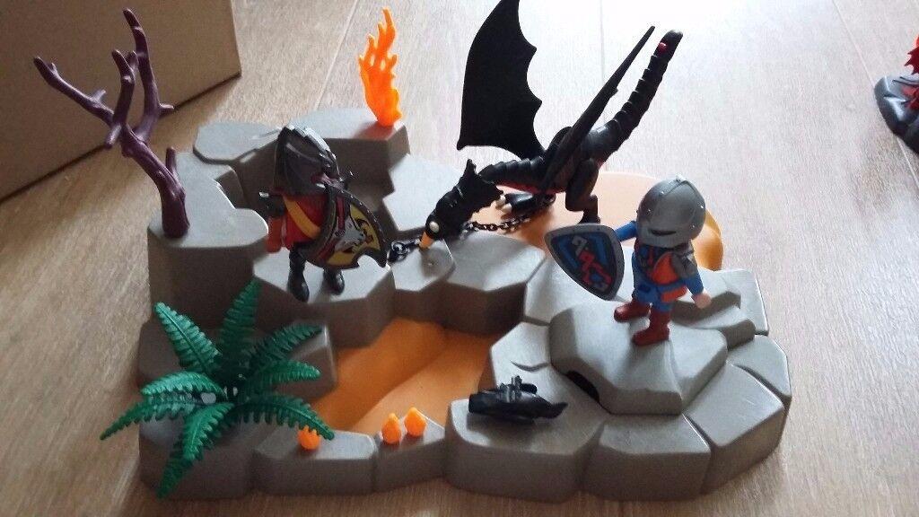 Playmobil super set dragons lair 4006