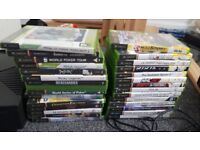 xbox console with 29 games fully working