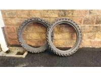 Scorpion mx and bridgestone tyres