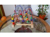 Baby - Tiddler wooden toy