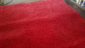 Red Ikea Rug
