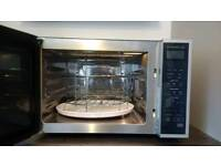 Microwave Oven with Grill and Convection