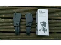 Mothercare Orb travel system adaptors for maxi cosi and cybex car seats