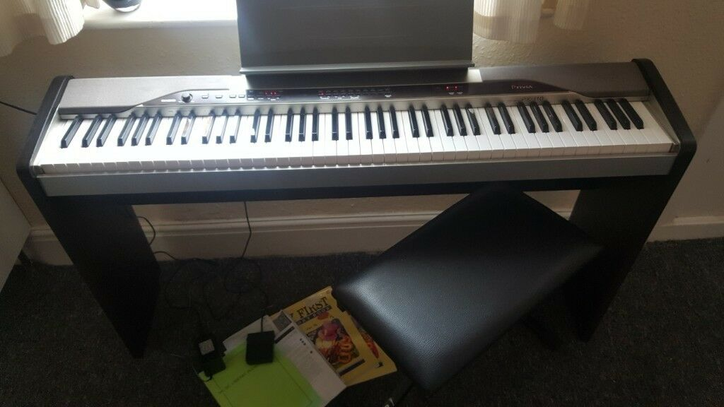 casio privia digital piano 88 weighted keys in derby derbyshire gumtree. Black Bedroom Furniture Sets. Home Design Ideas