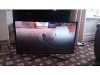 "SAMSUNG 40"" LED TV SMART/WIFI/DUAL CORE/100HZ/MEDIA PLAYER/ EXCELLENT CONDITION NO OFFERS"