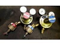 Oxy acetylene gauges and flasebacks
