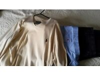 Gant, Ralp Lauren, Hollister and French connextion clothing