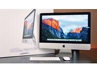 Brand newest apple IMAC 21.5 4K Retina display, 8GB, i5 Core, iris 6200, 1TB, sealed box AIO