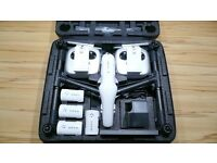 DJI INSPIRE 1 4K DRONE/QUADCOPTOR 10 BATTERIES 2 X REMOTES