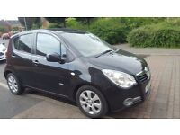 Low mileage 2009 Vauxhall Agila 1.2 Design (16v petrol) One owner from new + full service history!