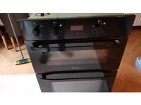 Hotpoint DH53K double oven and grill