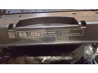 HP 05X CE505X Genuine Original Black Toner Ink Cartridge