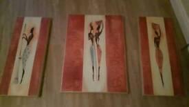 3 set wall canvas