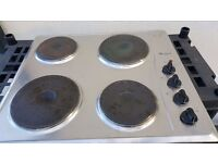 Whirlpool electric hob cooker