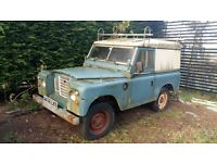 LANDROVER SERIES 3 Classic split screen petrol Landy 49k Barn Find for parts/spares/repair